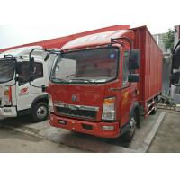 Buy cheap 12 Ton 4x2 Mini Box Truck Two Seats With Single Sleeper 13 Cubic Meter Volume from wholesalers
