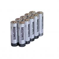 Buy cheap ZnMo2 LR6 AA 1.5V Alkaline battery  made by Baseponite product