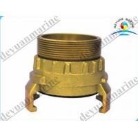 Buy cheap Brass French Type Fire Fighting Equipment Fire Hose Coupling With Storz Female from wholesalers
