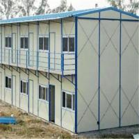 Buy cheap light steel structure K type sandwich panel prefabricated house for construction buildings from wholesalers