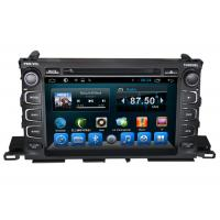 Buy cheap Highlander XU50 Series Toyota Dvd Navigation Custom Design And Logo from wholesalers