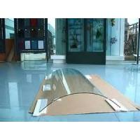 Buy cheap High mechanical strength Bent Tempered Glass for frameless, balustrade, elevator from wholesalers