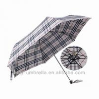 "Buy cheap wholesale umbrellas 27"" * 8ribs auto open abercrombie folding parasol umbrella from wholesalers"