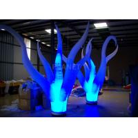 Buy cheap Color Changing Inflatable Tree Durable 210 D Oxford Cloth For Event Decoration from wholesalers