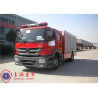 Buy cheap Six Seats Foam Fire Truck Benz Chassis Wheelbase 4500mm With Air Conditioner System from wholesalers