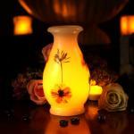 Buy cheap vase,glass vase,home decor,LED Flower vase light,LED Flower Vase pot lys,Bloemenvaas licht from wholesalers