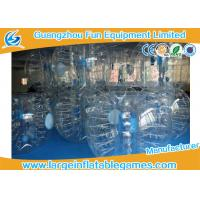 Buy cheap Clear 1.2m / 1.5m Inflatable Human Ball Bumper Zorb Football With 0.7mm TPU product