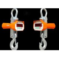 Buy cheap Heavy Duty Hanging Crane Scale , Industrial Crane Scale Weight Function from wholesalers