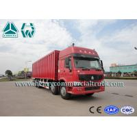Buy cheap ZZ1317 Energy Saving Lorry Truck With Insulated Van , Refrigerating Installation from wholesalers