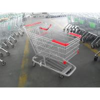 210 Litre Grocery Shopping trolley cart With amercian handle and 5 inch casters