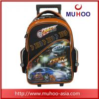 Buy cheap outdoor Cartoon Luggage Travel Rolling backpack School Bag for boys from wholesalers