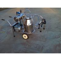 Buy cheap XD32B Single Bucket and Vacuum Pump Electric motor-driven mobile milking machine from wholesalers