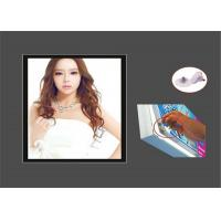 Buy cheap Commercial Indoor Or Outdoor LED Light Box 30mm Width 3D Point Laser Engraving from wholesalers