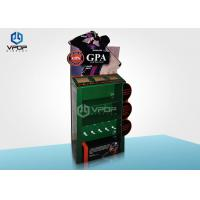 Buy cheap 2 Tier Small Cardboard Display Boxes Recyclable Green Colour For Golf Promotion from wholesalers