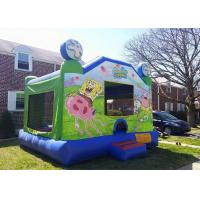 Buy cheap Amazing Backyard Spongebob bounce house , Big Party Jumpers Bounce House Party from wholesalers