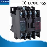 Buy cheap Black Three Phase Magnetic Contactor With Overload Relay Flame Retardant from wholesalers