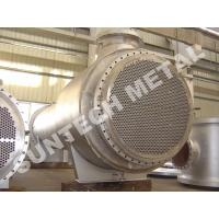 Buy cheap Zirconium 60702 Floating Type Heat Exchanger , Floating Head Cooler from wholesalers