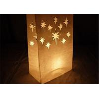 Buy cheap Paper Packaging Bags / Luminary Lantern Bags Path Lighting 6Width x 10Height x 3.5Depth from wholesalers