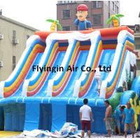 Buy cheap Outdoor Fun Sports Equipment Inflatable Water Slide with Blower for Children and Adults product