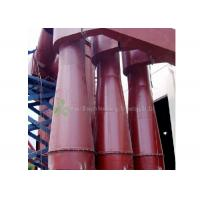 Buy cheap Red Cyclone Dust Separator Collector / Cement Dust Collector Filter Long Using Life product