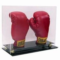 Buy cheap DOUBLE VERTICAL BOXING GLOVE UV PROTECTION ACRYLIC DISPLAY CASE from wholesalers