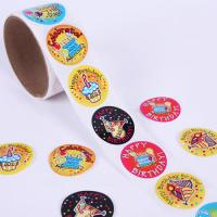 Buy cheap Personalized Birthday Funny Cartoon Vinyl Stickers For Children from wholesalers