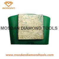 Buy cheap Ez Change Diamond Grinding Block Diamond Toolings for Concrete from wholesalers