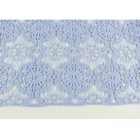 Buy cheap Guipure Dying Lace Fabric With Floral Water Soluble Lace Design For Dress Factory product