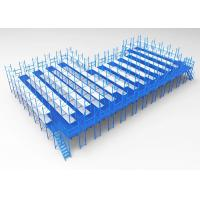 Buy cheap Steel Platform Mezzanine Racking System Powder Coated / Galvanized Finish 3D design from wholesalers