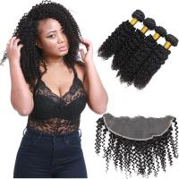 Buy cheap Natural Peruvian Human Hair Extensions / Peruvian Unprocessed Virgin Remy Hair from wholesalers
