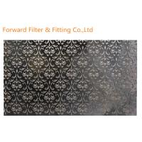 Colored Metal Casting Products Embossed Aluminum Sheet Decorative Pattern Stainless Steel Wall