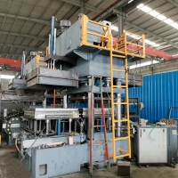 Buy cheap 1200t Palm Fiber Presswood Pallet Press Machine To Reusing Palm Leaves Fruits from wholesalers
