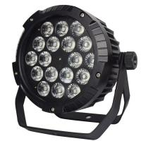 Buy cheap Full-color 18*18W  6in1 Leds Waterproof Outdoor Stage Lighting Slim Par Light from wholesalers
