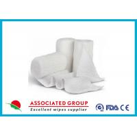 Buy cheap Stretch Cotton Gauze Bandage Rolls , X Ray Detectable Bandages from wholesalers
