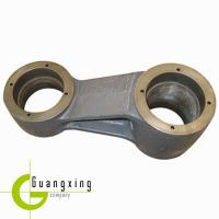 Buy cheap bullet train connecting rod steel casting part product