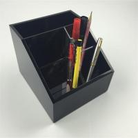 Buy cheap acrylic pen holder wholesale with available price from wholesalers