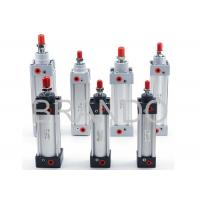 Buy cheap Bore Diameter 32 40 50 Pneumatic Air Cylinders With High Temperature Resistant Seal Material from wholesalers