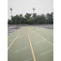 Buy cheap Gymnastic Foam Artificial Grass Shock Pads Water Drainage Three Layers from wholesalers