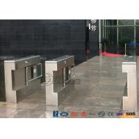Buy cheap Gym Electronic Stainless Steel Turnstile Double Swing IP 54 LED Indicator product