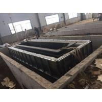 Buy cheap Structure Pipes Hot Dip Galvanizing Line With Low Carbon Steel / Customized Size from wholesalers
