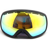 Buy cheap Ladies Adult Ski Goggles For Glasses Wearers TPU Frameless Flexible Customized Color from wholesalers