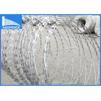 Buy cheap High Tensile Strength Barbed Wire Fencing Zinc Coated 450mm-960mm Diameter from wholesalers