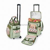Buy cheap Rolling Cooler with Waterproof Lining and Telescoping Handle, Measuring 5 x 13 x 19 Inches from wholesalers