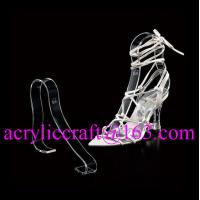 Buy cheap Factory wholesale acrylic shoe rack / plexiglass shoe display holder from wholesalers