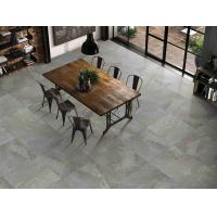 Buy cheap Antique 3D Inkjet Marble Modern Grey Floor Tiles Matte Finished Stain Proof from wholesalers