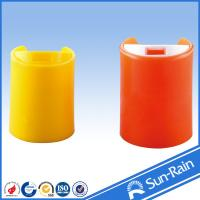 Buy cheap Colorful red yellow standard disc cap for plastic shampoo bottles from wholesalers