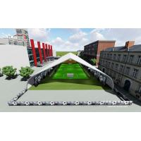 Buy cheap Waterproof Outdoor Event Tents / TFS Footabll Hall for Football and Soccer , Curved Sport Tents from wholesalers