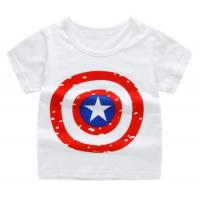 Buy cheap Summer Childrens Summer Clothes Boy Girl Single T Shirt Short Sleeve Shirt from wholesalers