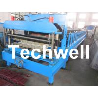 Buy cheap Hydraulic Color Steel Glazed Tile Roll Forming Machine For Wall Cladding, Metal Roof Tile from wholesalers