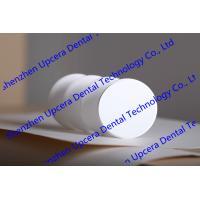 Aesthetic Restoration 49% Transmittance Top Translucent Dental Zirconia Blank for CAD/CAM Milling System